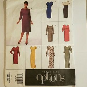Vogue Sewing Pattern Misses Sizes Petite 14-18